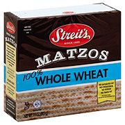 Streit's 100% Whole Wheat Matzos