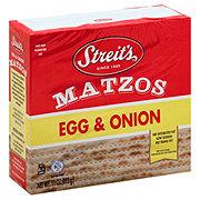Streit's Egg and Onion Matzos