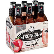 Strongbow Rose Apple Hard Cider 11.2 oz Bottles