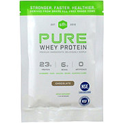 Stronger Faster Healthier] Packet Pure Whey Chocolate