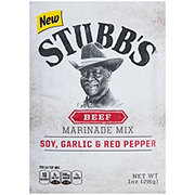 Stubb's Soy Garlic & Red Pepper Beef Marinade Mix