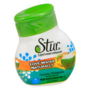 Stur Coconut Water & Pineapple Liquid Water Enhancer