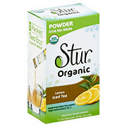 Stur Organic Lemon Iced Tea Drink Mix