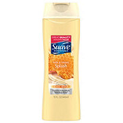 Suave Essentials Creamy Milk and Honey Splash Body Wash