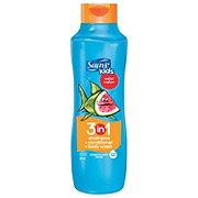 Suave Kids 3-in-1 Wacky Melon Shampoo + Conditioner + Body Wash