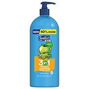 Suave Kids Apple 3 In 1 Shampoo+ Condtioner+ Body Wash