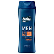 Suave Professionals Men Pure Power Anti Dandruff 2 in 1 Shampoo and Conditioner