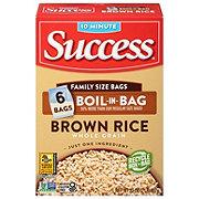 Success Boil-in-Bag Whole Grain Brown Rice, 32 oz