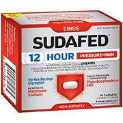 Sudafed 12 Hour Pressure + Pain Caplets