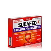 Sudafed PE Pressure + Pain + Cold Caplets