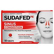 Sudafed PE Sinus Congestion