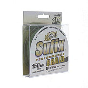 Sufix Green Performance Braid- 10lb, 150yds