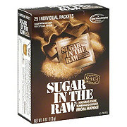 Sugar in the Raw Natural Cane Turbinado Sugar Packets