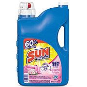 Sun Cuddle Soft Original Fresh Liquid Detergent, 92 Loads