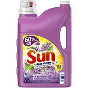Sun HE Triple Clean Lavender Bliss Liquid Laundry Detergent 134 Loads