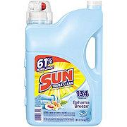 Sun Triple Clean Bahama Breeze Laundry Detergent, 125 Loads