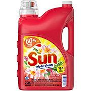 Sun Triple Clean Liquid Hawaiian Oasis Laundry Detergent, 134 Loads