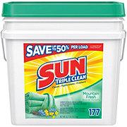 Sun Triple Clean Mountain Fresh Powder Laundry Detergent