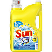 Sun Triple Clean Plus Oxi Liquid Detergent 98 Loads