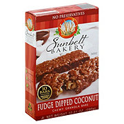 Sunbelt Fudge Dipped Coconut Chewy Granola Bars