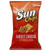 sunchips harvest cheddar shop pork rinds and other chips at heb
