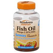 Sundown naturals fish oil omega 3 epa dha with vitamin d3 for Vitamin shoppe omega 3 fish oil