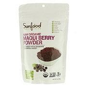 Sunfood Super Foods Raw Organic Maqui Berry Powder Shop Diet