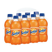 Sunkist Orange Soda 12 oz Bottles