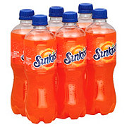 Sunkist Orange Soda 16.9 oz Bottles