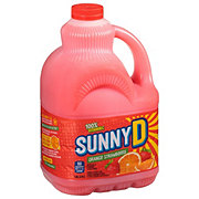 Sunny D Orange Strawberry Flavored Citrus Punch