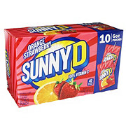Sunny D Orange Strawberry Pouches 6 oz