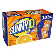 Sunny D Tangy Original Punch Pouches 6 oz