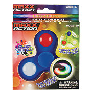 Sunny Days Entertainment Light Up Super Spinners Blue
