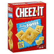 Sunshine Cheez-It Baby Swiss Baked Snack Crackers
