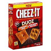 Sunshine Cheez It Duoz Snack Mix Cheddar Jack And Pretzel
