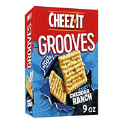 Sunshine Cheez-It Grooves Zesty Cheddar Ranch Crackers