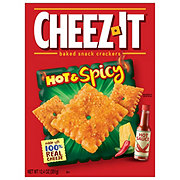Sunshine Cheez-It Hot and Spicy Baked Snack Crackers