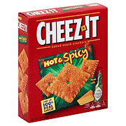 Sunshine Cheez-It Hot & Spicy Baked Snack Crackers