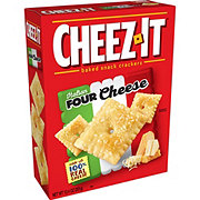 Sunshine Cheez-It Italian Four Cheese Baked Snack Crackers