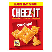 Sunshine Cheez-It Original Baked Snack Crackers Family Size