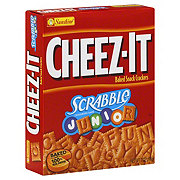 Sunshine Cheez-It Scrabble Junior Crossword Game Baked Snack Crackers
