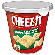 Sunshine Cheez-It White Cheddar Baked Snack Crackers Cup