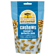 Sunshine Nut Company Cashews Roasted & Perfectly Plain