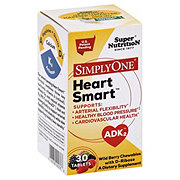 Super Nutrition Simply One Heart Smart, Wild Berry Chewable