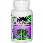 Super Nutrition Think Clearly Tablets