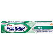 Super Poligrip Free Denture Adhesive Cream