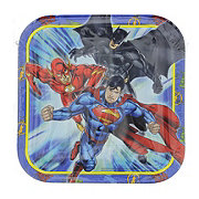 Superman Justice League Plates