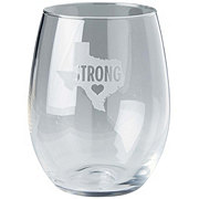 Susquehanna Texas Est 1845 Stemless Wine Glass