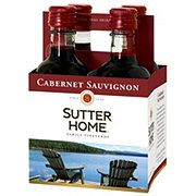 Sutter Home Family Vineyards Cabernet Sauvignon 187 mL Bottles