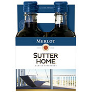 Sutter Home Family Vineyards Merlot 187 mL Bottles